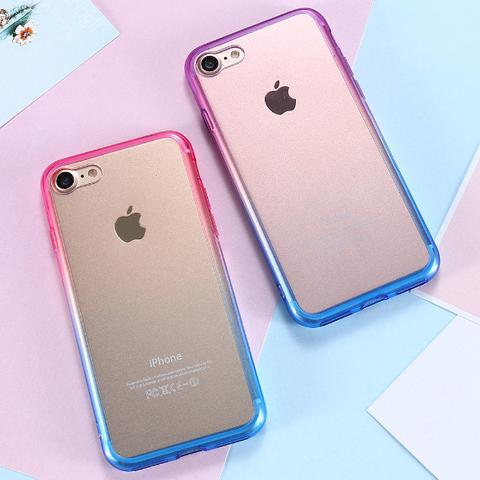 iPhone 7 avec coque en silicone