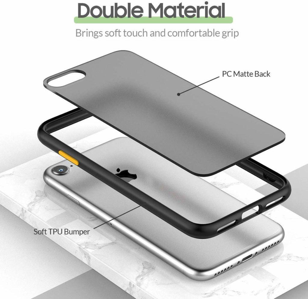 Coque iPhone 8 avec bumper renforcé