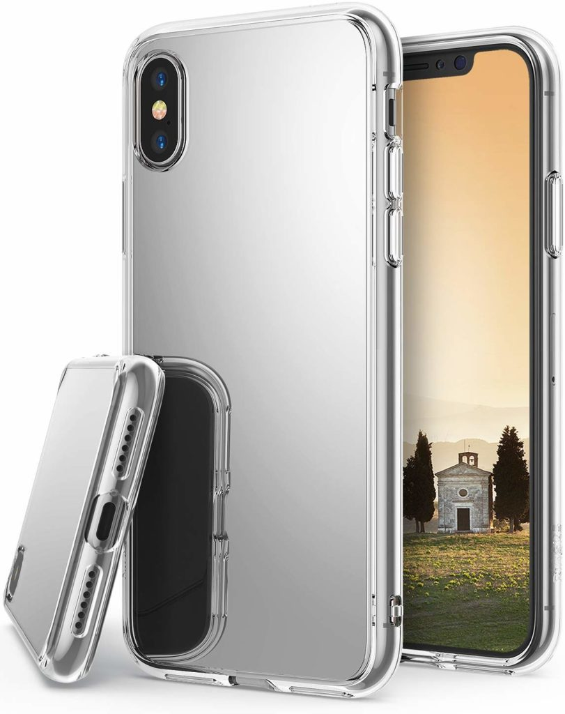 Coque iPhone X et XS de Ringke Fusion Mirror