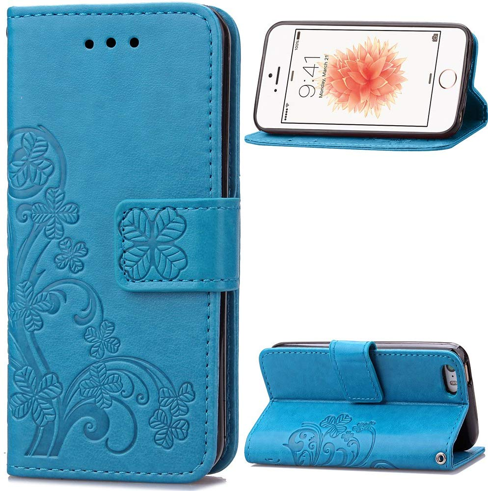 Flip cover Blue d'Emaxelers pour iPhone 5C